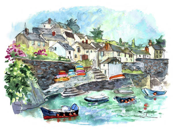 Wall Art - Painting - Coverack On Lizard Peninsula 06 by Miki De Goodaboom