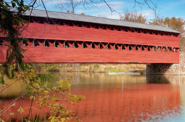 Photograph - Covered Bridge by Dan Urban