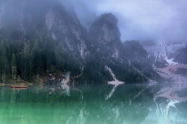 Wall Art - Photograph - Covered In Fog by Claudia Lungauer