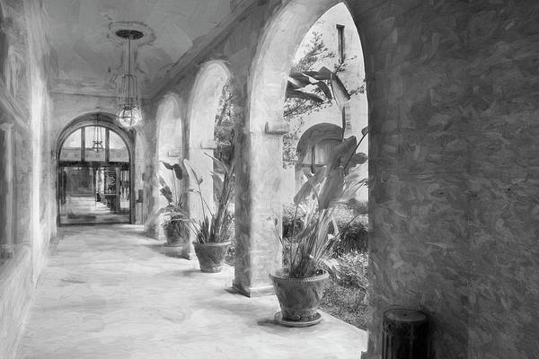 Lightner Museum Photograph - Covered Walkway Lightner Museum St Augustine 001 by Rich Franco