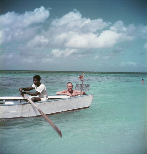 Greater Antilles Photograph - Coward Abroad by Slim Aarons