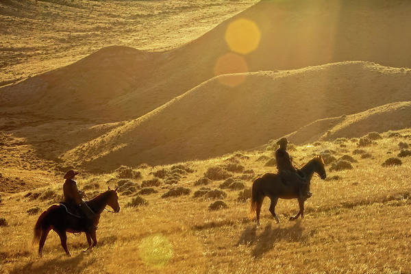 Photograph - Cowboy Sunrise by Kay Brewer