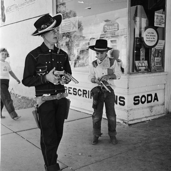 Toy Gun Photograph - Cowboy Town by Doreen Spooner