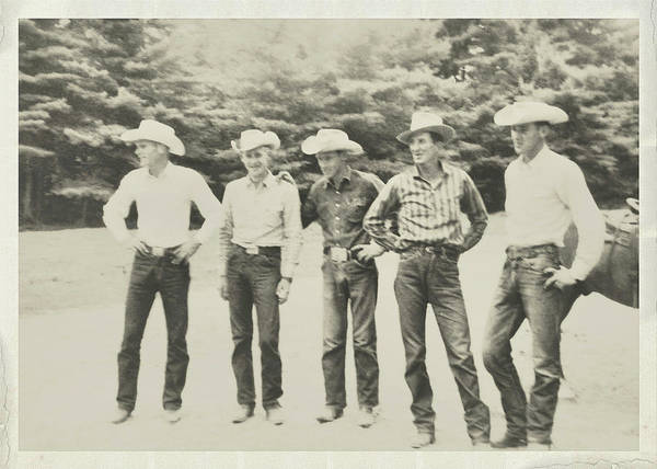 Photograph - Cowboy Tribe by Dressage Design