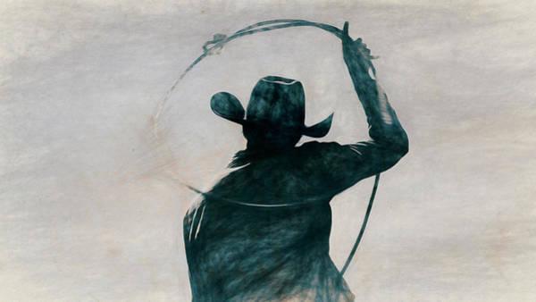 Wall Art - Photograph - Cowgirl Blue by Pamela Steege