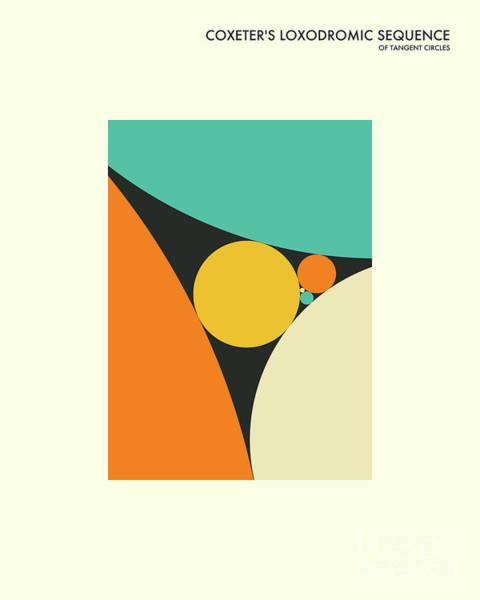 Math Wall Art - Digital Art - Coxeter Sequence by Jazzberry Blue
