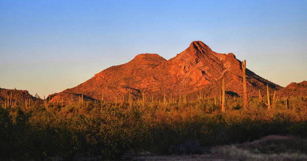 Photograph - Coyote Mountains Day End by Chance Kafka