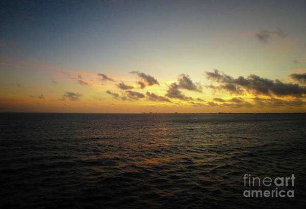 Photograph - Cozumel Sunrise by Judy Hall-Folde