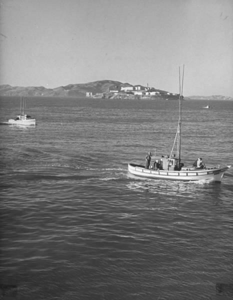 Crabbing Photograph - Crab Boats Inbound After A Days Crabbin by Hansel Mieth