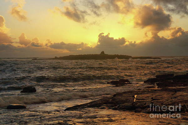 Photograph - Crab Island Sunset by Peter Skelton
