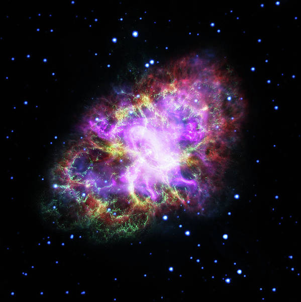 Photograph - Crab Nebula The Guest Star by Paul W Faust - Impressions of Light