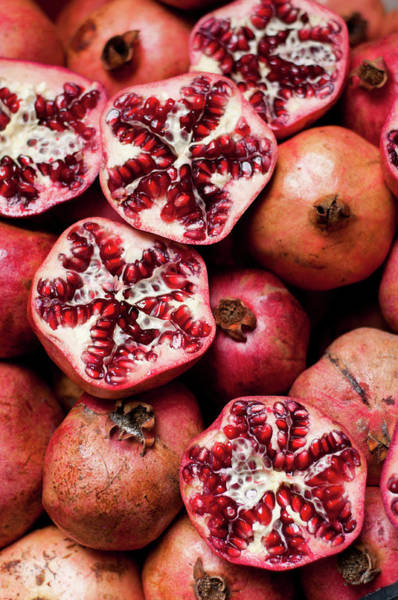 Cracked Photograph - Cracked Pomegranate by Subman