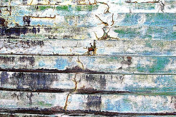 Photograph - Cracked Stone Steps by Cynthia Guinn