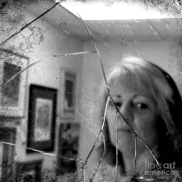 Photograph - Cracked by Terry Rowe
