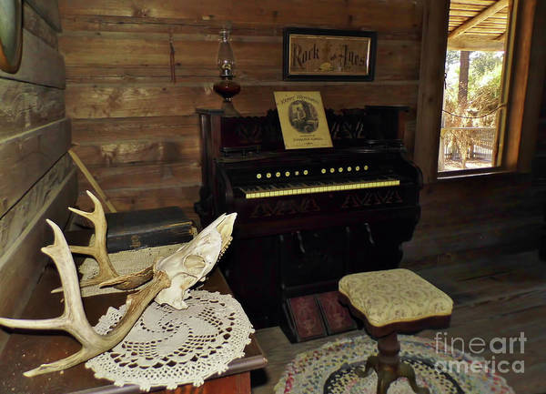 Photograph - Cracker Music Room by D Hackett