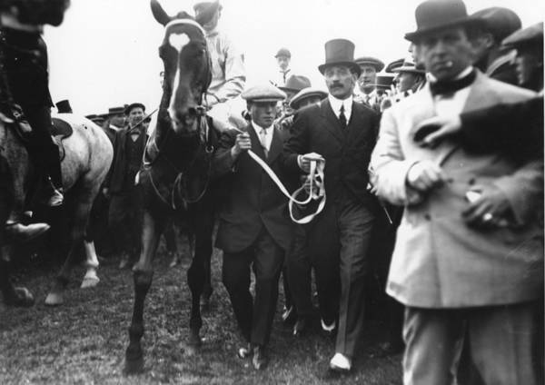 Epsom Derby Photograph - Craganour At Derby by Topical Press Agency