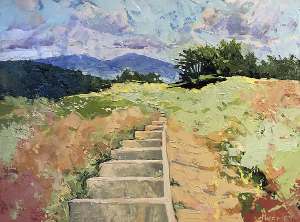 Painting - Craggy Gardens Steps Of The Bald by Catherine Twomey