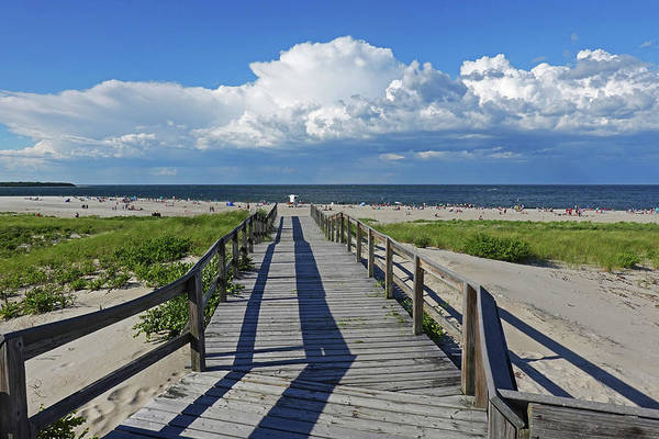 Photograph - Crane Beach Footbridge Ipswich Ma by Toby McGuire