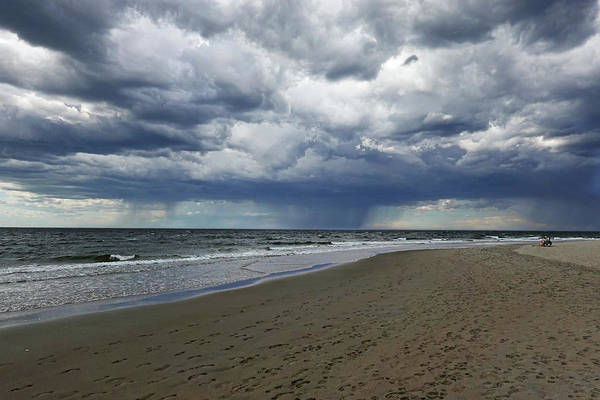 Photograph - Crane Beach Portal Through The Storm Ipswich Ma Coastline Dramatic Sky by Toby McGuire