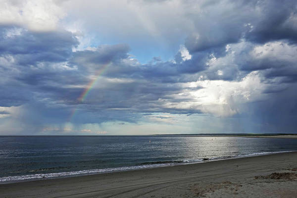 Photograph - Crane Beach Rainbow And Dramatic Sky Ipswich Ma by Toby McGuire