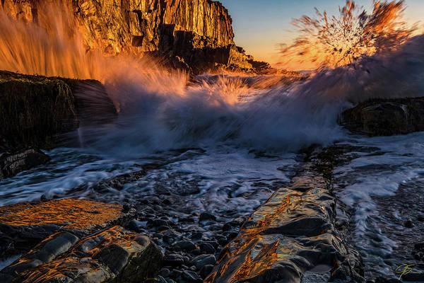 Photograph - Crash by Jeff Sinon