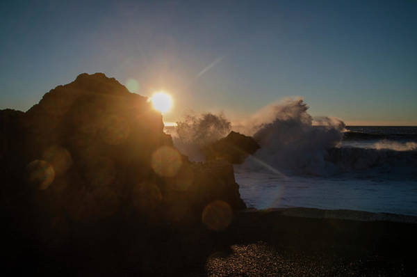 Photograph - Crashing Surf At Black Sands Beach by Bill Cannon