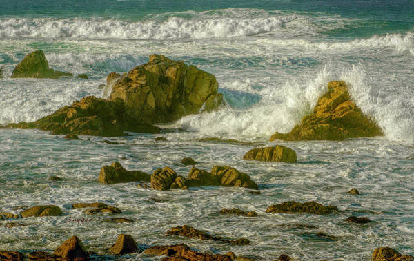 Photograph - Crashing Waves 17 Mile Drive by Floyd Snyder
