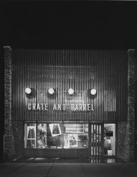 Merchandise Photograph - Crate And Barrels Original Store by Chicago History Museum