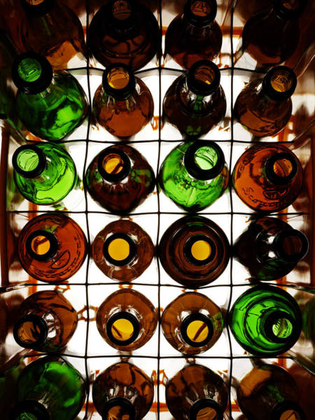 Photograph - Crate Of Empty Beer Bottles by Tastyart Ltd Rob White