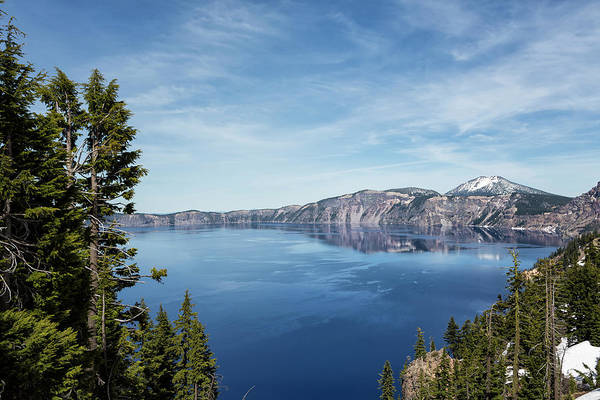 Photograph - Crater Lake From The Lodge by Belinda Greb