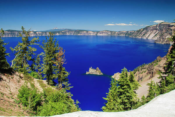 Crater Lake Photograph - Crater Lake II by Daniel Cummins