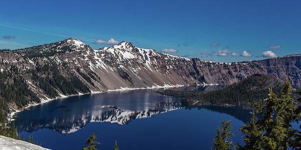 Crater Lake Np Photograph - Crater Lake National Park, Oregon by Julieta Belmont