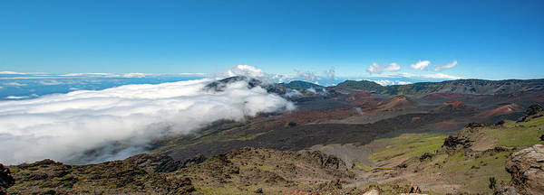 Photograph - Crater View Of Haleakala by Anthony Jones