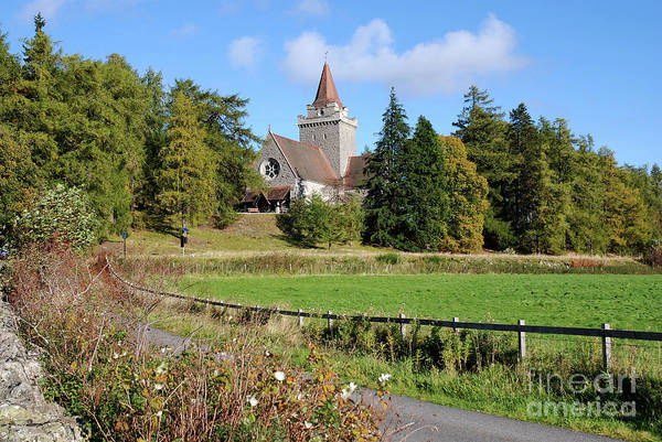 Photograph - Crathie Kirk - Early Autumn by Phil Banks