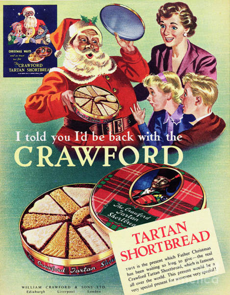 Wall Art - Photograph - Crawford Tartan Shortbread by Picture Post