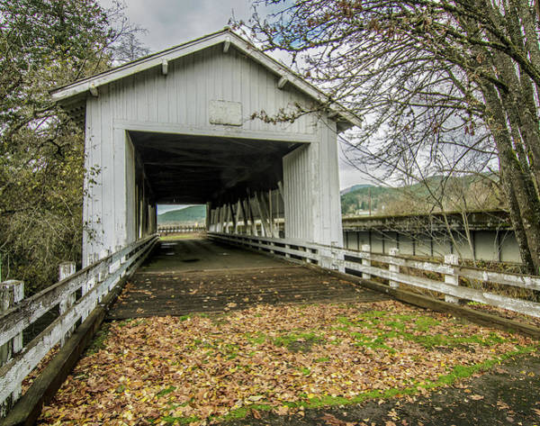 Photograph - Crawfordsville Bridge  by Matthew Irvin