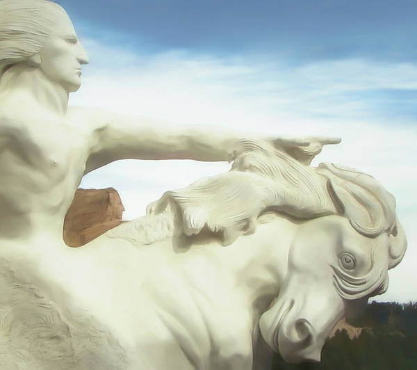 Wall Art - Photograph - Crazy Horse Memorial Sd by Susan Hope Finley
