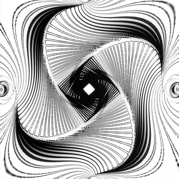 Digital Art - Crazy Spin  Verrueckte Drehung C by Eva-Maria Di Bella