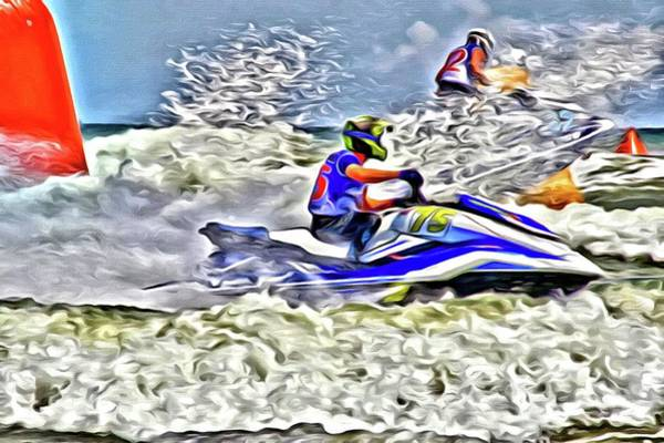 Photograph - Crazy Waves Race Day by Alice Gipson