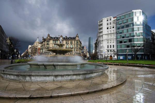 Bilbao Photograph - Crazy Weather In Bilbao by Peru Serra