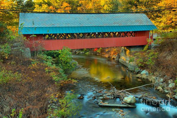 Photograph - Creamery Bridge Crossing by Adam Jewell