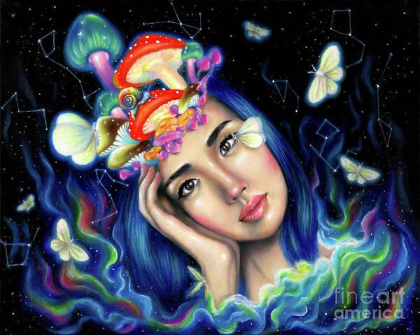 Wall Art - Painting - Creative Mind by Olesya Umantsiva