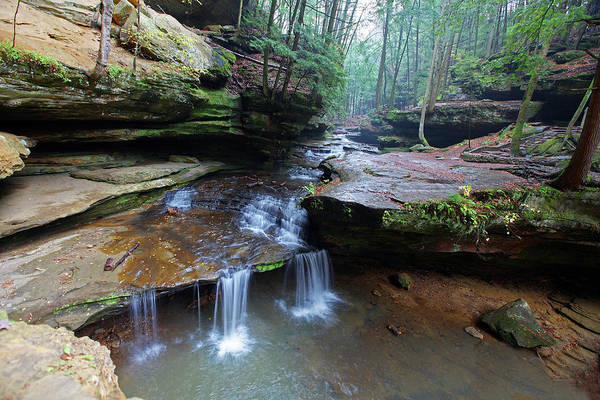 Hocking Hills Photograph - Creek @ Old Mans Cave by Jaki Good Photography - Celebrating The Art Of Life