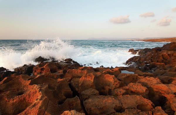 Wall Art - Photograph - Creek Coastline by Wingmar