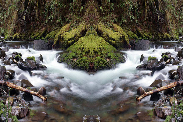 Photograph - Creekscene #1 by Ben Upham III
