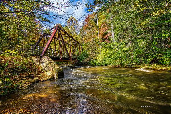 Photograph - Virginia Creeper Trail Fall by Dale R Carlson