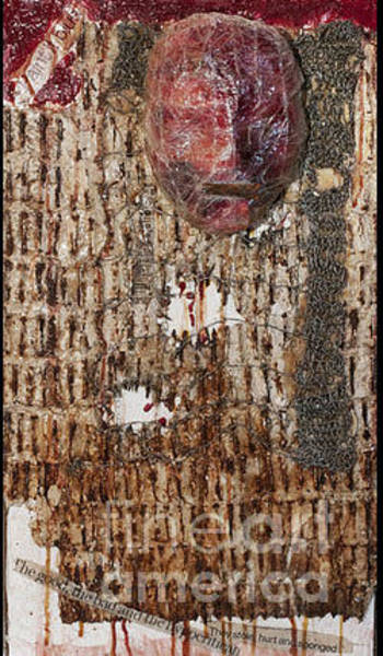 Wall Art - Mixed Media - Creeping Senescence by Siobhan Dempsey