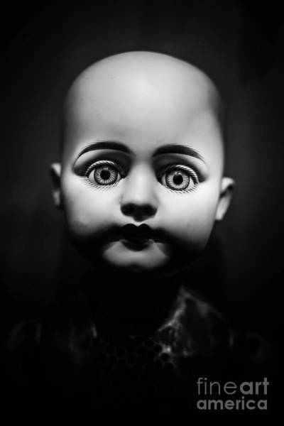 Wall Art - Photograph - Creepy Toy Doll by Edward Fielding