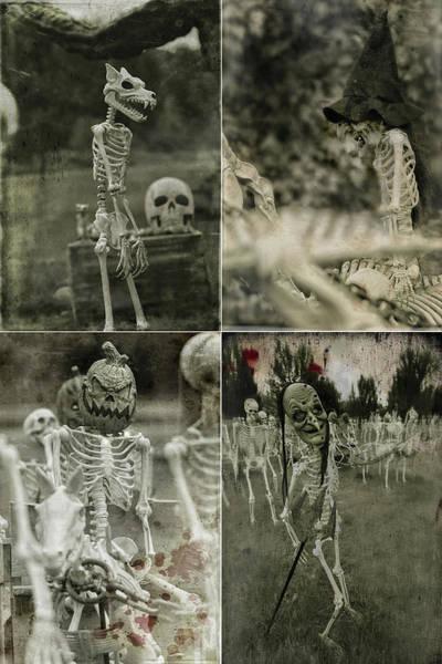 Wall Art - Photograph - Creepy Vintage Halloween Photos by Carrie Ann Grippo-Pike