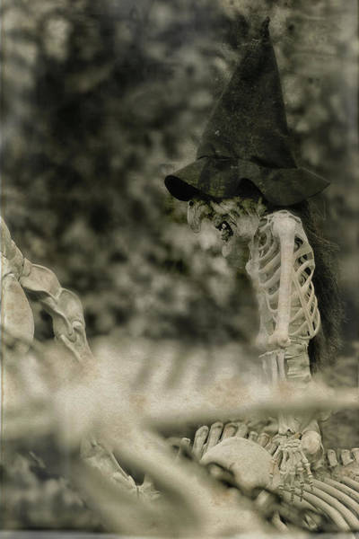 Wall Art - Photograph - Creepy Vintage Witch Hat by Carrie Ann Grippo-Pike